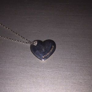 Tiffany & Co necklace with heart pendant